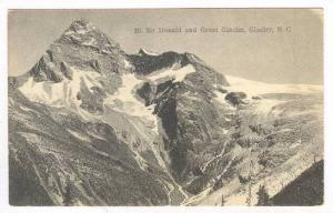 Mt. Sir Donald & Great Glacier, Glacier, British Columbia, Canada, 1900-1910s