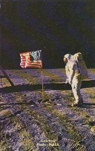 Man On The Moon Astronaut Aldrin Apollo 11 EVA