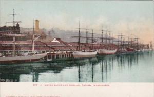 Washington Tacoma Water Front and Shipping Scene