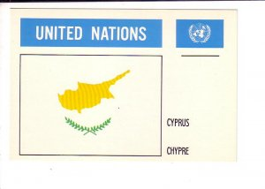 Cyprus, Flag, United Nations.