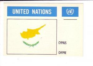Cyprus, Flag, United Nations.