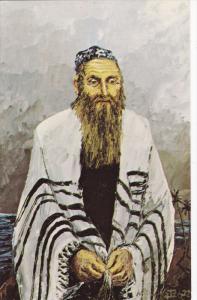 ARTIST Morris Katz, Jewish Theme Postcard; The Man Of Vision, 1972