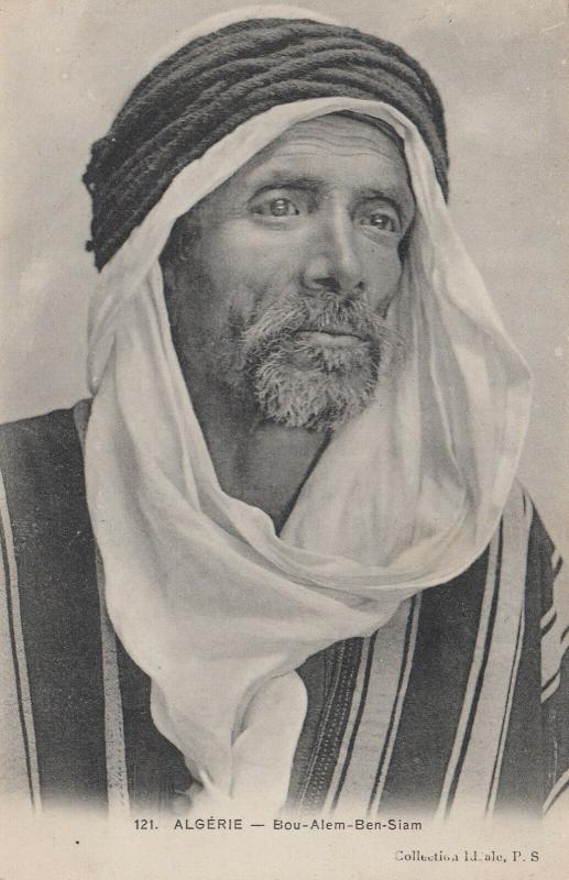 Algeria , 1900-10s ; Bou-Alem-Ben-Siam