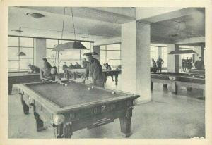 Italy Rome Alexander Club billiards pool table game 4th floor