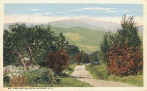 USA New Hampshire Mt Washington from Jackson 05.92