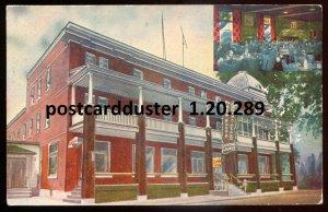 289 - BERTHIERVILLE Quebec 1965 New Manoir Hotel. Postage Due by Audet