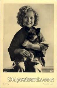 Actress Shirley Temple Postcard Post Card Actor Actress, Movie Star, Film Pos...