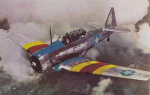US Navy Scout Trainer North America SNJ-4 Trainer airplane 40-60s