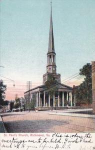 Virginia Richmond St Paul's Church 1907