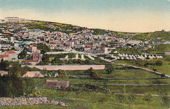 NAZARETH, Israel, 00-10s; View from the South