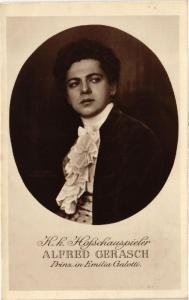 """CPA Alfred Gerasch """"Prinz in Emilia Galotti"""" THEATRE STAR (642234)"""