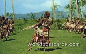 Fiji, Fijian Spear Dance  Spear Dance
