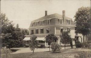Home - Possible Pike NH Cancel - Keene Written on Back c1910 RPPC