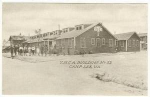 Y.M.C.A. Building Camp Lee, Virginia,PU-1910