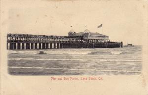 Pier & Sun Parlor , Long Beach , California , Pre-1907