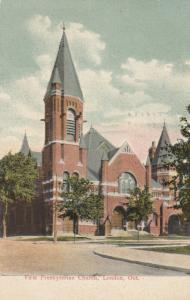 LONDON, Ontario , 1908 ; First Presbyterian Church
