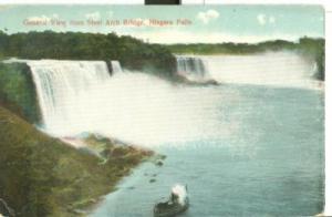 General view from Steel Arch Bridge, Niagara Falls, early...