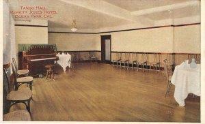 Tango Hall, Merritt Jones Hotel, Ocean Park, California c1920s Vintage Postcard