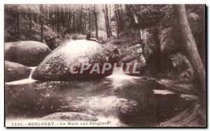Postcard Old Huelgoat La Mare aux Boars