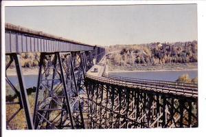 Canadian Pacific Railway Bridge, Highway Bridge, Nipawin,  Saskatchewan,