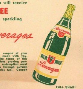 Nehi Fresno California Drink Par T Pak Beverages Vintage Advertisement