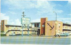 Anchor Motel Nashville, Tennessee, TN, West End at 20th Avenue, Chrome