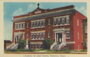 HAWKESBURY , Ontario , Canada, 1930s ; L'Academie - St. Joseph Academy