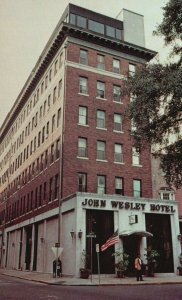 Savannah, Georgia, GA, John Wesley Hotel, Chrome Vintage Postcard h3516