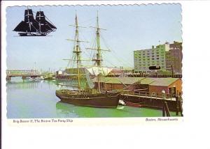 Brig Beaver, Tall Ship, Boston Massachusetts,