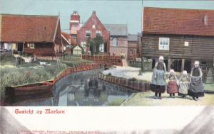 Women & Children, Gezicht Op Marken (North Holland), Netherlands, 1900-1910s