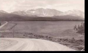 Wyoming Buffalo-Ten Sleep-Worland Highway Big Horn Mountains Real Photo RPPC