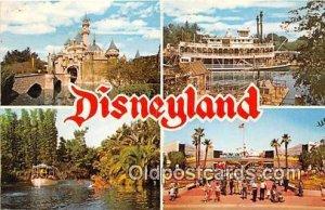 Sleeping Beatuy Cast, Mark Twain Disneyland, Anaheim, CA, USA 1975