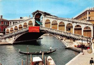 Italy Venezia Ponte di Rialto bridge, Pont, Bruecke, gondola