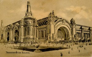 MO -  St Louis. Louisiana Purchase Exposition, 1904. Transportation Building ...