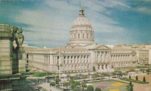 California San Francisco Civic Center With City Hall