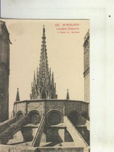 Postal 010438: Cimborio de la Catedral de Barcelona