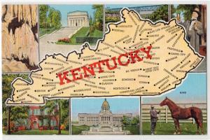 Map KENTUCKY