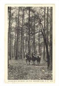 Autumn Days are bright and fair, Southern Pines, North Carolina, PU-1937