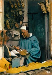 Morocco craftsman maker of babouches