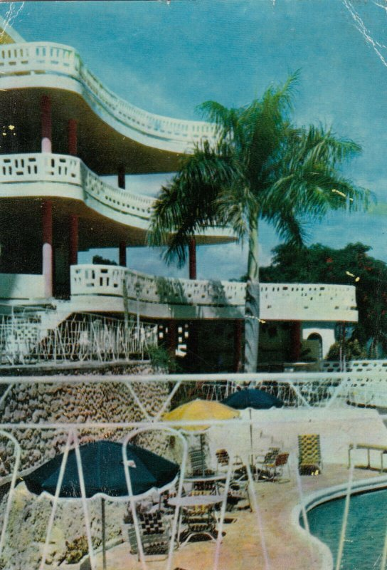 PORT-AU-PRINCE, Haiti, West Indies, 40-60s; Front-view of Castel Hotel