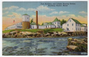 Boothbay Harbor, Maine, Fish Hatchery and Lobster Rearing Station