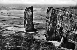 Nordseeinsel Helgoland Cliffs Sea Waves Landscape