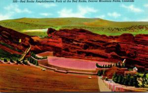 Colorado Denver Mountain Parks Red Rocks Amphitheatre