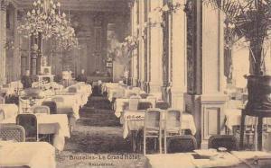 Legrand Hotel , Restaurant , Bruxelles , Belgium, 00-10s