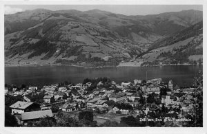 Lot 57 zell am see real photo g d hundestein austria salzburg
