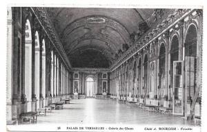 France Versailles Galerie des Glaces Vtg Bourdier Postcard