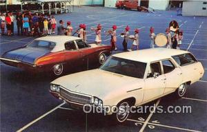 Winsted, Conn, USA Postcard Post Card 1969 Buick Special Deluxe Sedan & Stat...