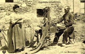 France - L'Auvergne. Le Matelassier (The Quilter)