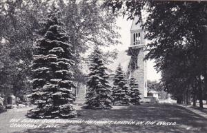 Wisconsin Cambridge Oldest Scandinavian Methodist Church In World 1956 Real P...