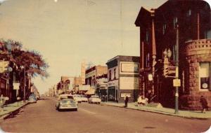 Sault Ste Marie Ontario Canada Queen Street Scene Antique Postcard K30395
